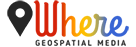 Where Geospatial Media Logo